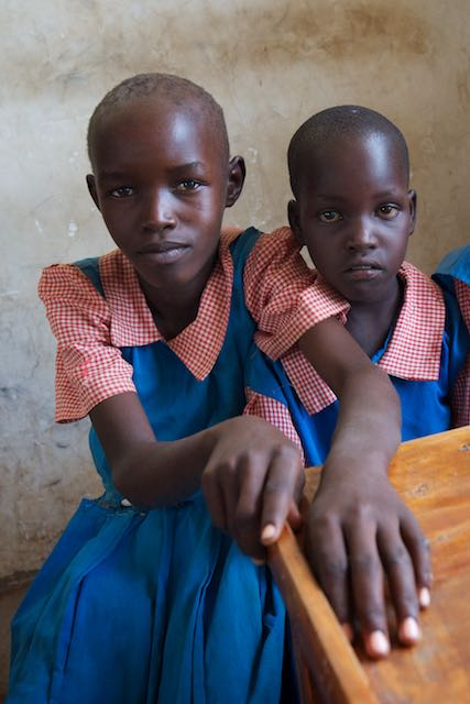 Young Kenyan girls - Marigat, Kenya