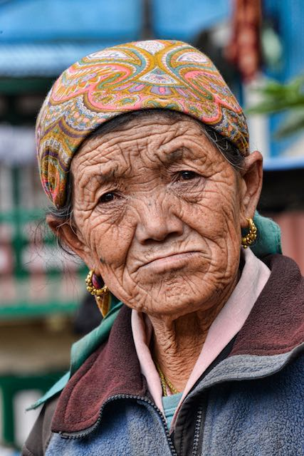Street vendor - Namche Bazaar, Nepal